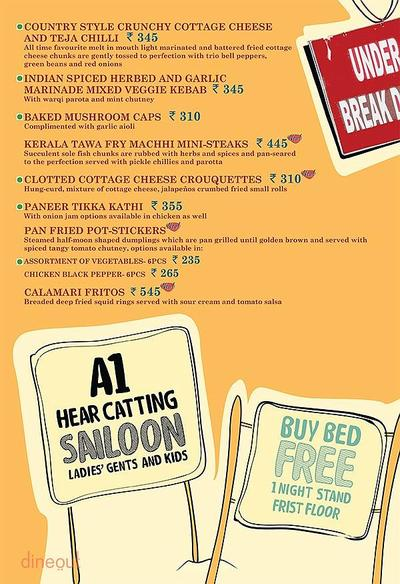 Cafe Delhi Heights Menu 4