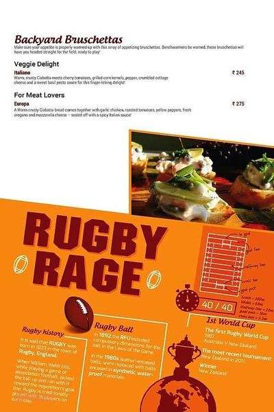 Toss Sports Lounge Menu 7