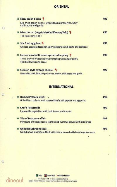 The Culinary Court Menu 8