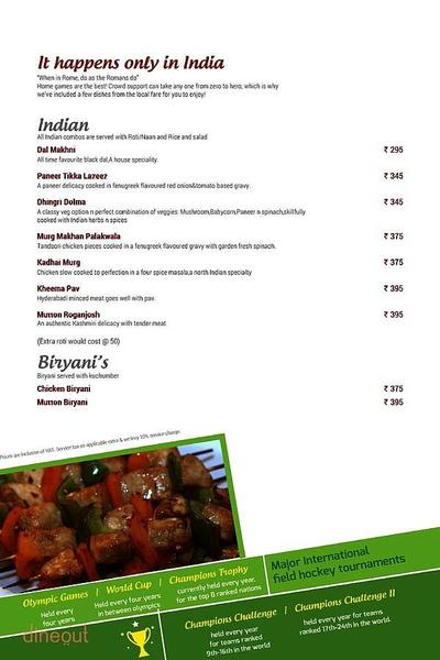 Toss Sports Lounge Menu 12