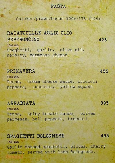 Cafe Illuminatii Menu 7