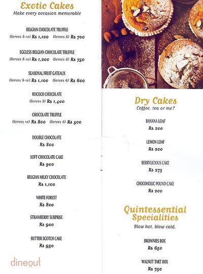 Bread & More Menu 4