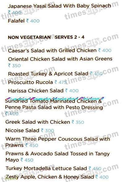 Foodhall Menu 5