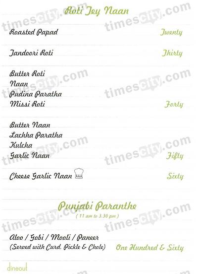 Club Delhi Menu 5