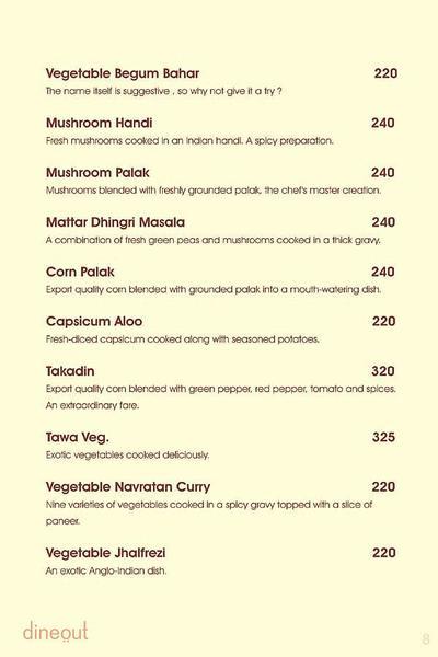 Charcoal Grill Menu 14