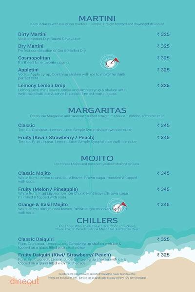 Toss Sports Lounge Menu 18