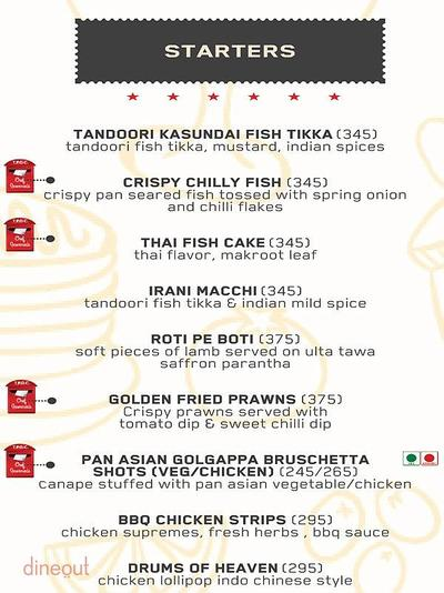 The Post Office Cafe Menu 2