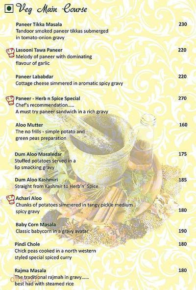 Herb n Spice Menu 8