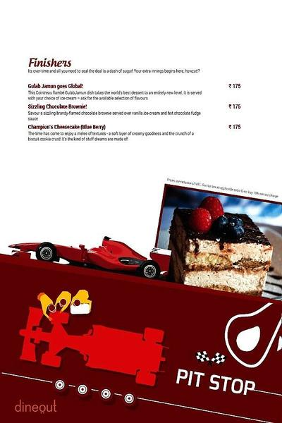 Toss Sports Lounge Menu 13