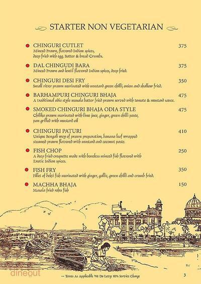 Mandaa - Ethnic Sea Food Menu 2