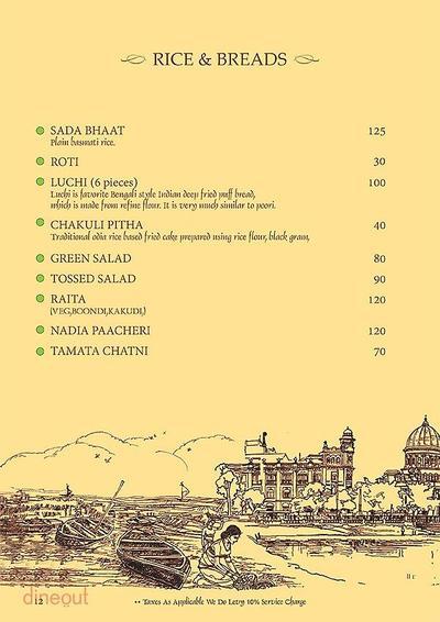 Mandaa - Ethnic Sea Food Menu 11