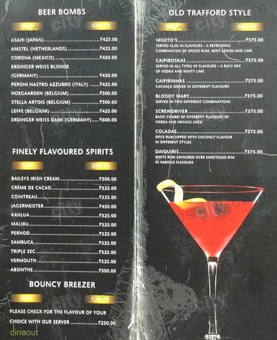 The United Sports Bar & Grill Menu 3