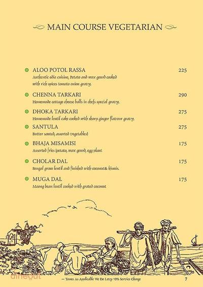 Mandaa - Ethnic Sea Food Menu 6
