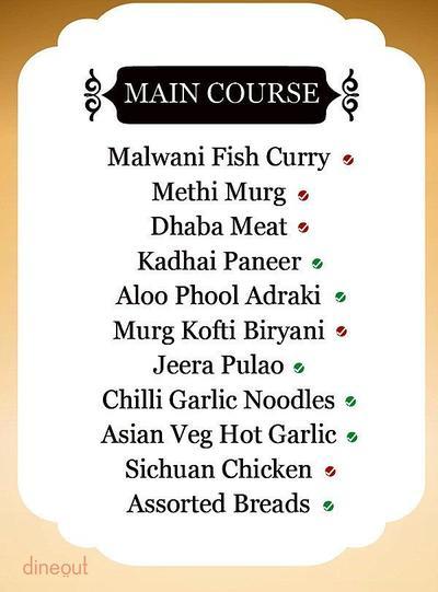 Indian Grill Company Menu 2
