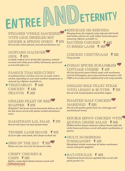 Cafe Delhi Heights Menu 12