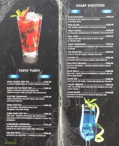 The United Sports Bar & Grill Menu 2