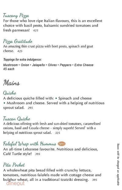 Cafe Turtle Menu 4