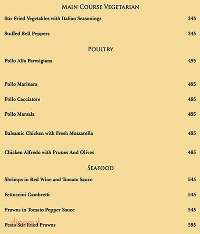 Rainforest Resto Bar Menu 3