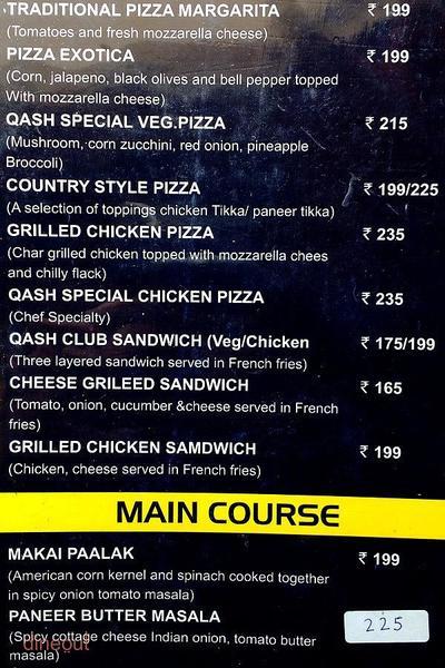 Qash Cafe Lounge Sheesha Menu 6