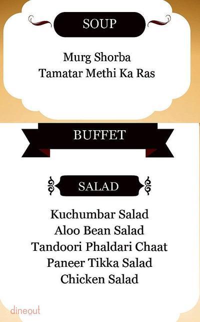 Indian Grill Company Menu 1