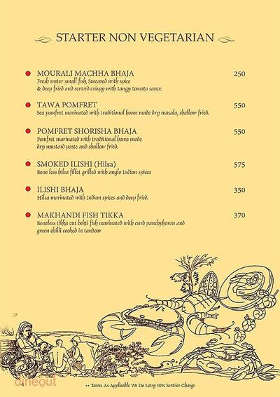 Mandaa - Ethnic Sea Food Menu 3