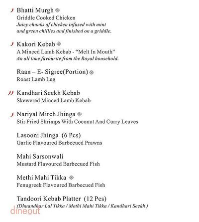 Sigree - Hotel Shree Nanda Excellency Menu 4