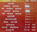 Chitale Bandhu Mithaiwale Menu
