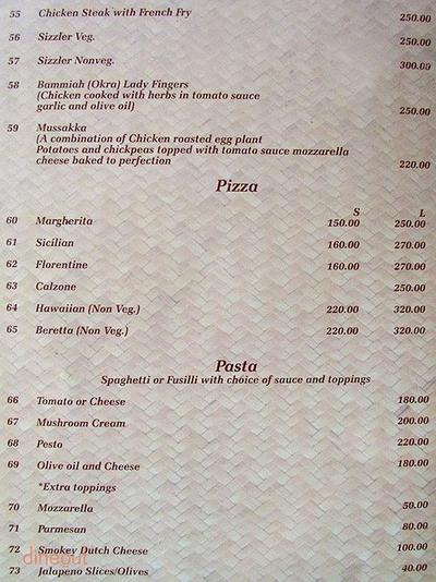 Fire and Ice Rooftop Restaurant Menu 4