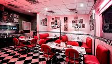 The All American Diner restaurant