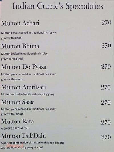 Moti Mahal Restaurant & Bar Menu 7
