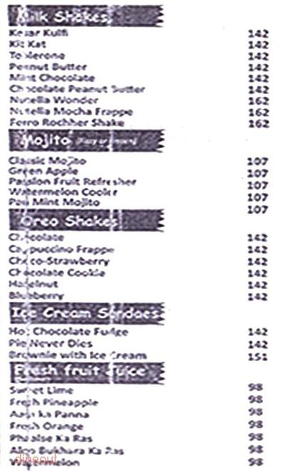 Cafe Brown Sugar Menu 3