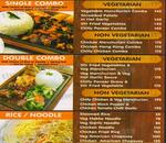 Chopsticks Express Menu