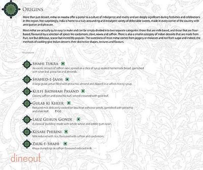 Dum Pukht - ITC Maurya Menu 3