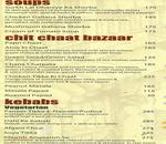 Not Just Paranthas Menu