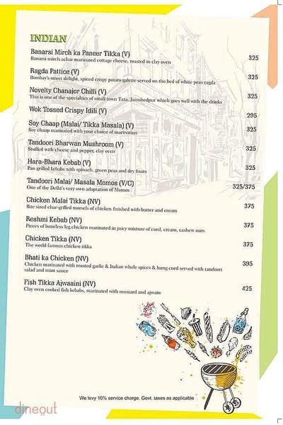 Cafe Dalal Street Menu 4
