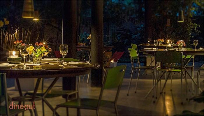 Top 10 romantic restaurants in bangalore dineout for Assamese cuisine in bangalore