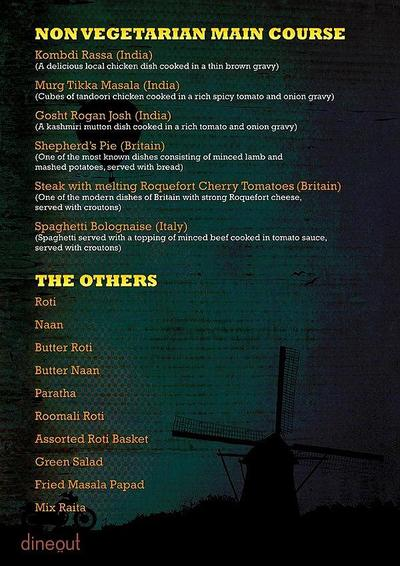 The High Spirits Cafe Menu 14