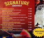 Underdoggs Sports Bar & Grill - Vasant Kunj Menu