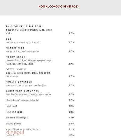 Indian Accent - The Manor Menu 12