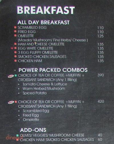 The Coffee Bean & Tea Leaf Menu 3