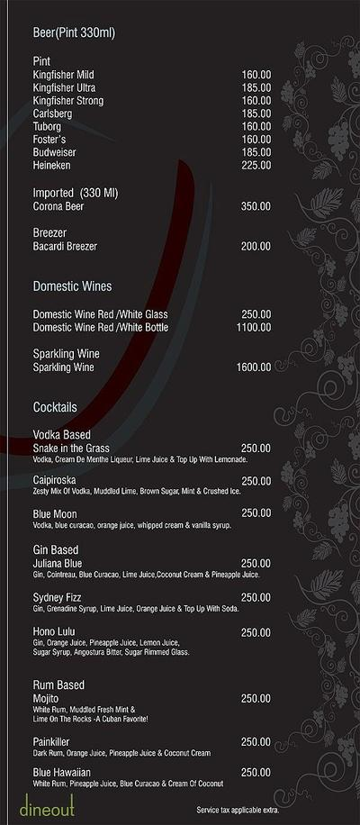 Deccan Harvest Menu 11