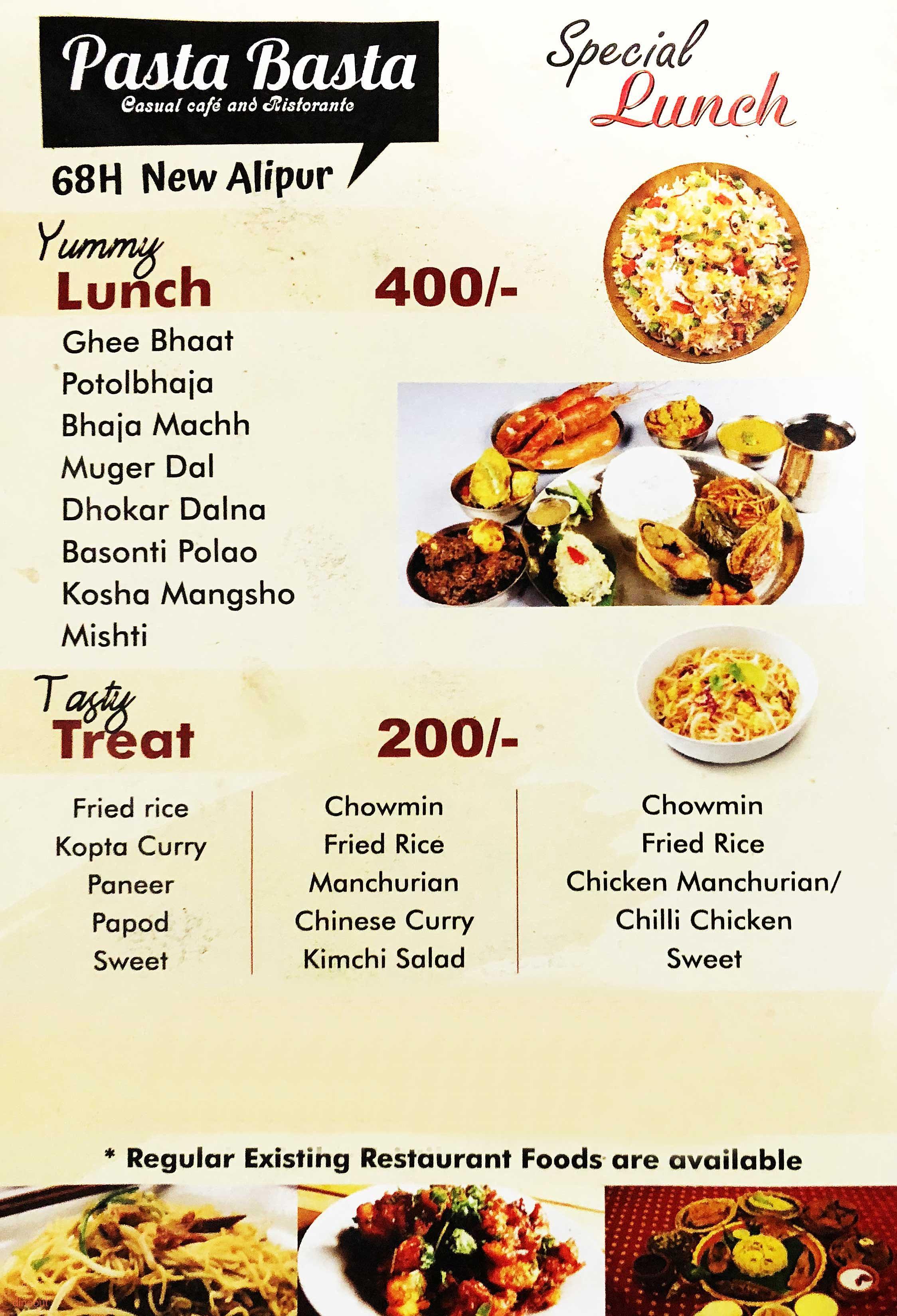 Pasta Basta - Special Offers for JPMembers - JetPrivilege