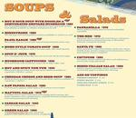 Cafe Delhi Heights Menu