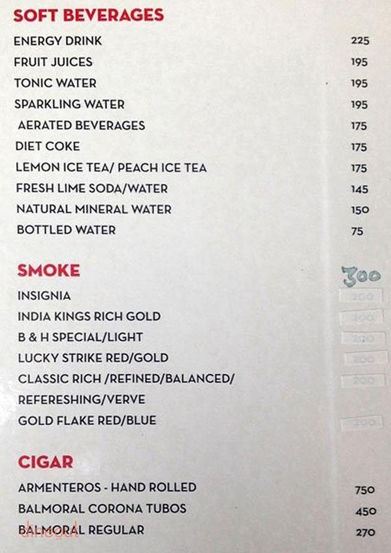 Vapour pub and brewery mg road gurgaon delhi dineout for 13th floor mg road menu