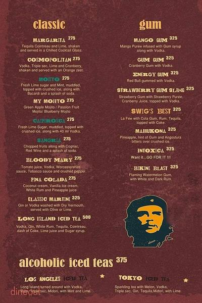 Swig Bar & Eatery Menu 6