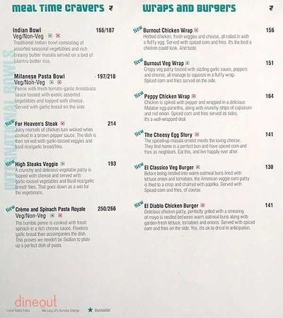 Cafe Coffee Day The Lounge Menu 3