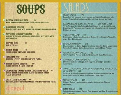 Swig Bar & Eatery Menu