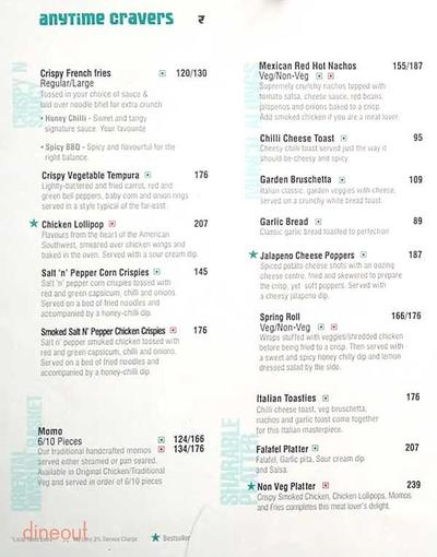 Cafe Coffee Day The Lounge Menu 2