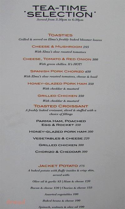 Elma's Bakery Menu 13