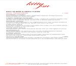 Kitty Su - The LaLit Menu